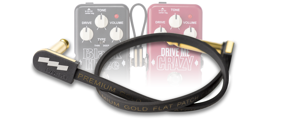 PG – Premium Gold Flat Patch Cables by EBS